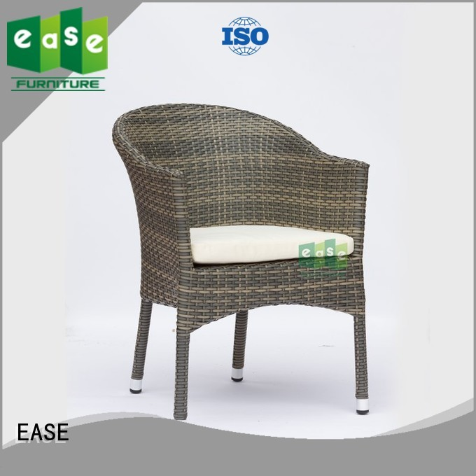 arm rattan bistro chairs outdoor EASE company