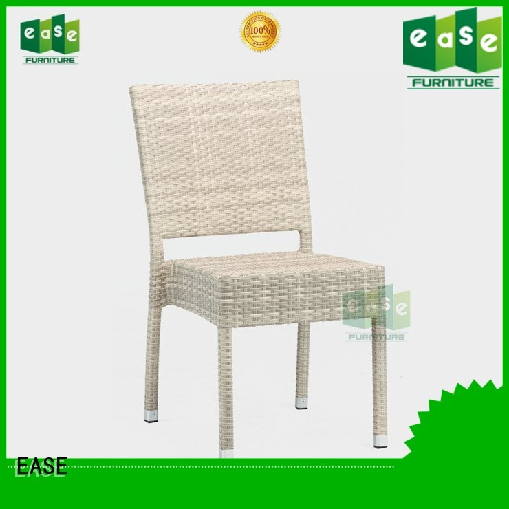 Wholesale synthetic style rattan bistro chairs EASE Brand