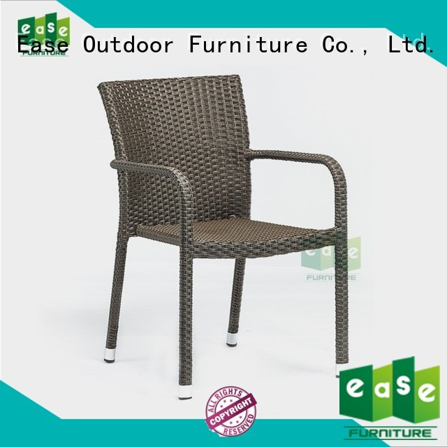 Quality EASE Brand rattan cafe chairs sale