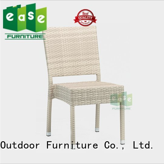 EASE rattan cafe chairs chair french garden