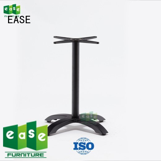 EASE Brand duty white aluminum table legs stackable heavy