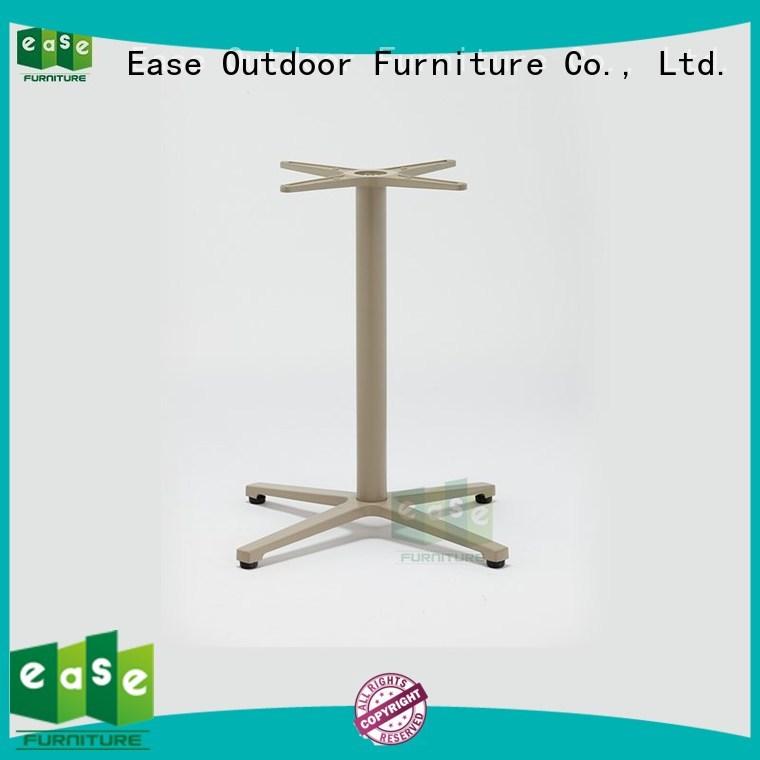 shop folding cast aluminum table base outdoor look EASE Brand