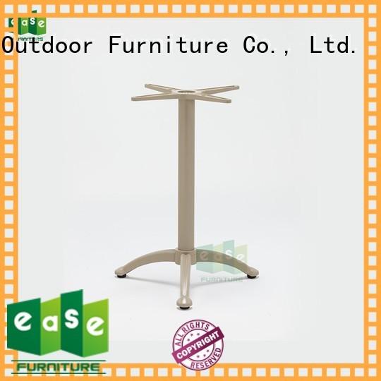 dining heavy base aluminum table legs EASE Brand company