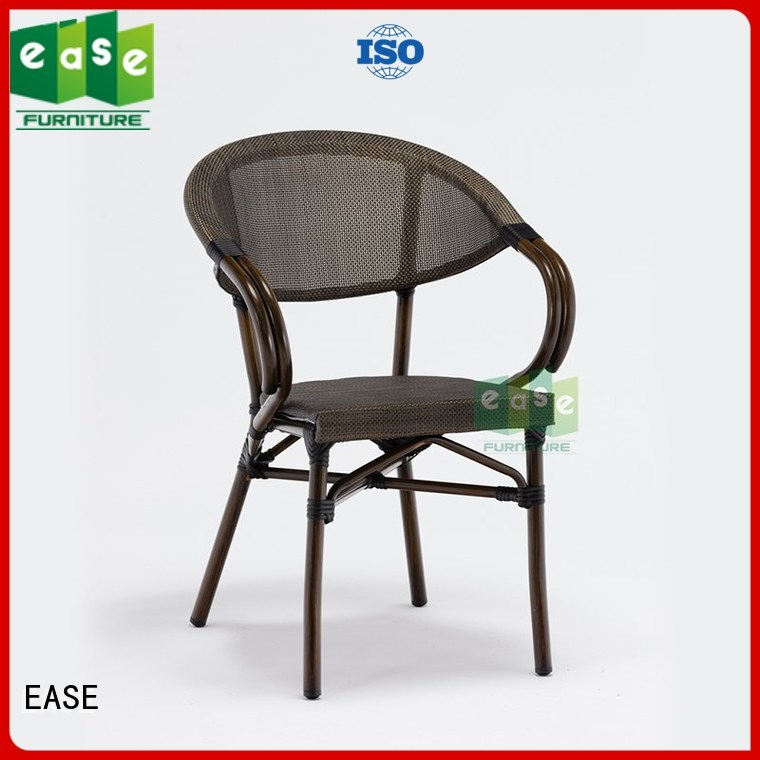 Hot dining outdoor bistro table and chairs armless chairs EASE Brand