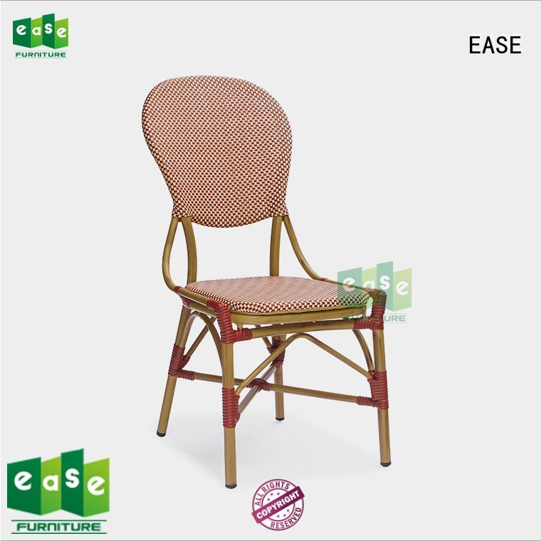 outdoor folding bistro chairs chair wood EASE Brand