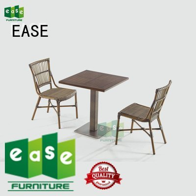 aluminum patio table and chairs look standard wooden patio table and chairs EASE Brand