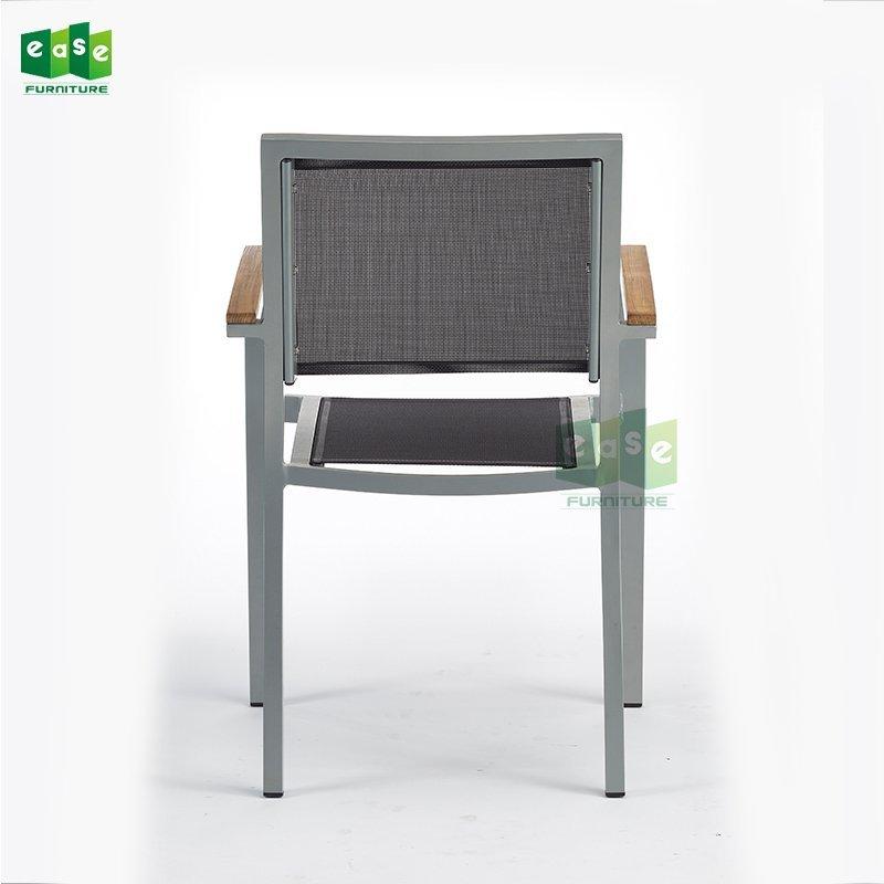 Aluminum PVC Bistro Chair