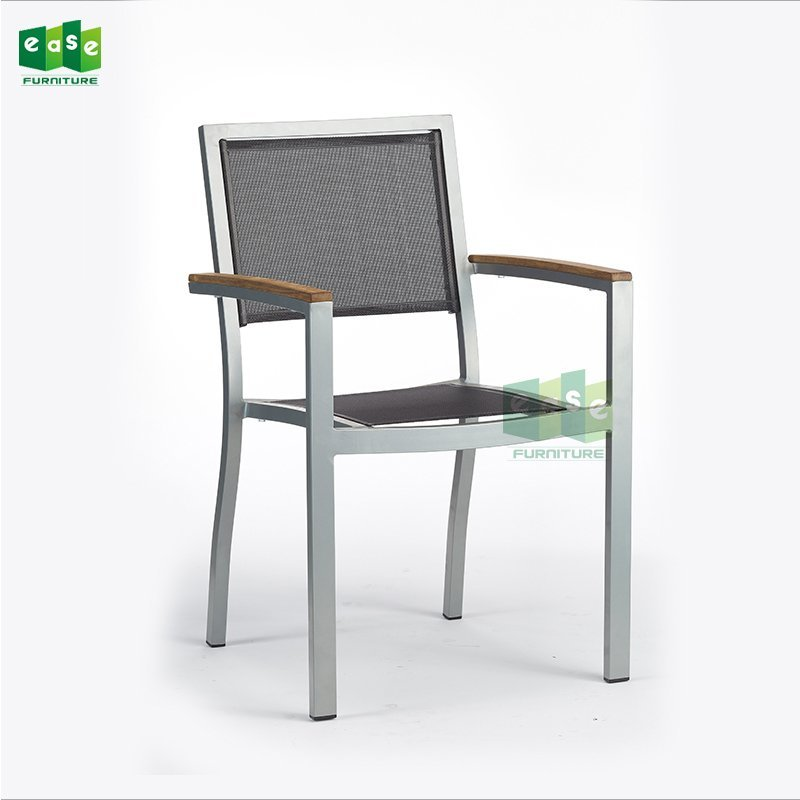 Aluminum PVC Bistro Chair