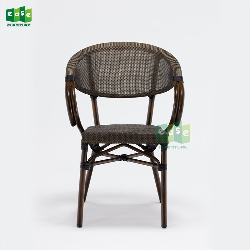Italian Stacking Outdoor Fabric Cafe Chair
