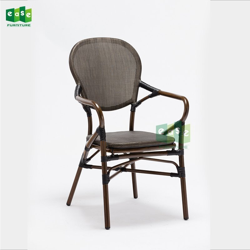 Polyester Fabric Cafe Chair