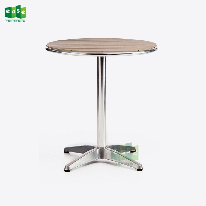 Heavy Duty Polished Surface Aluminum 4 Legs Table Base E9018