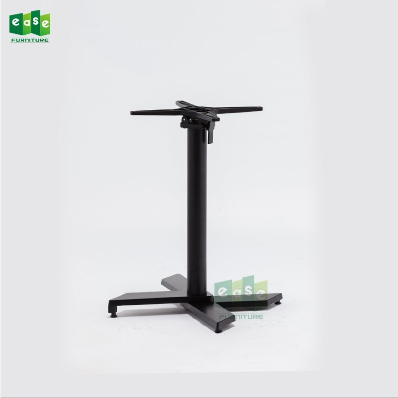 Black Color Stackable Aluminum Table Base E9840