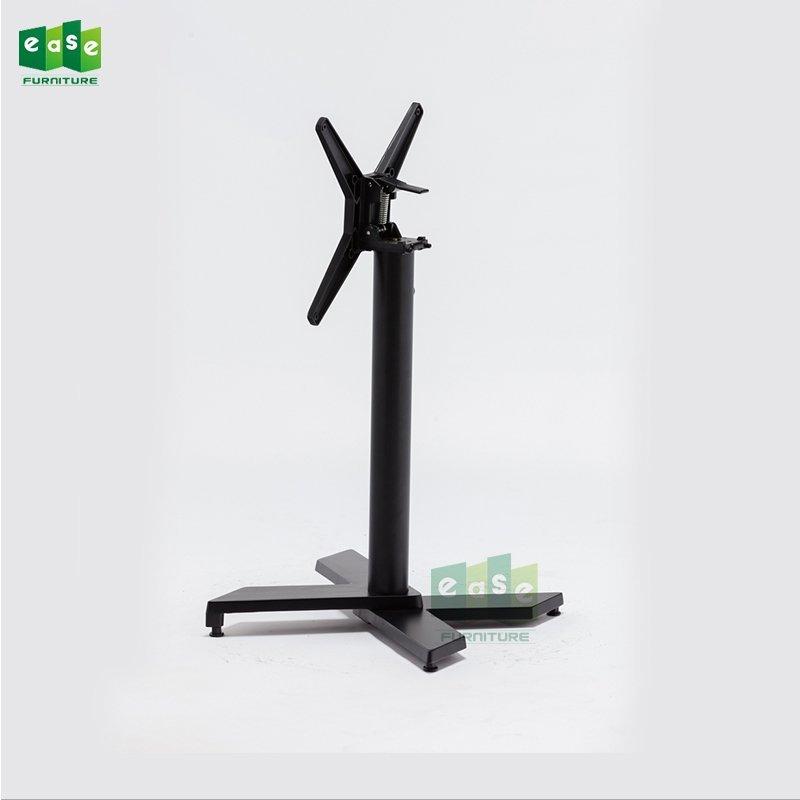 Black Color Stackable Aluminum Table Base E9840