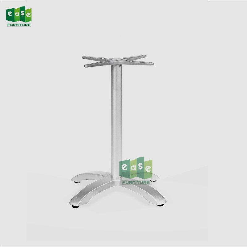Matte Surface Aluminum 4 Legs Table Base E9401