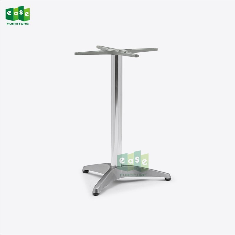 Polished Bistro Aluminum Table Base E9837