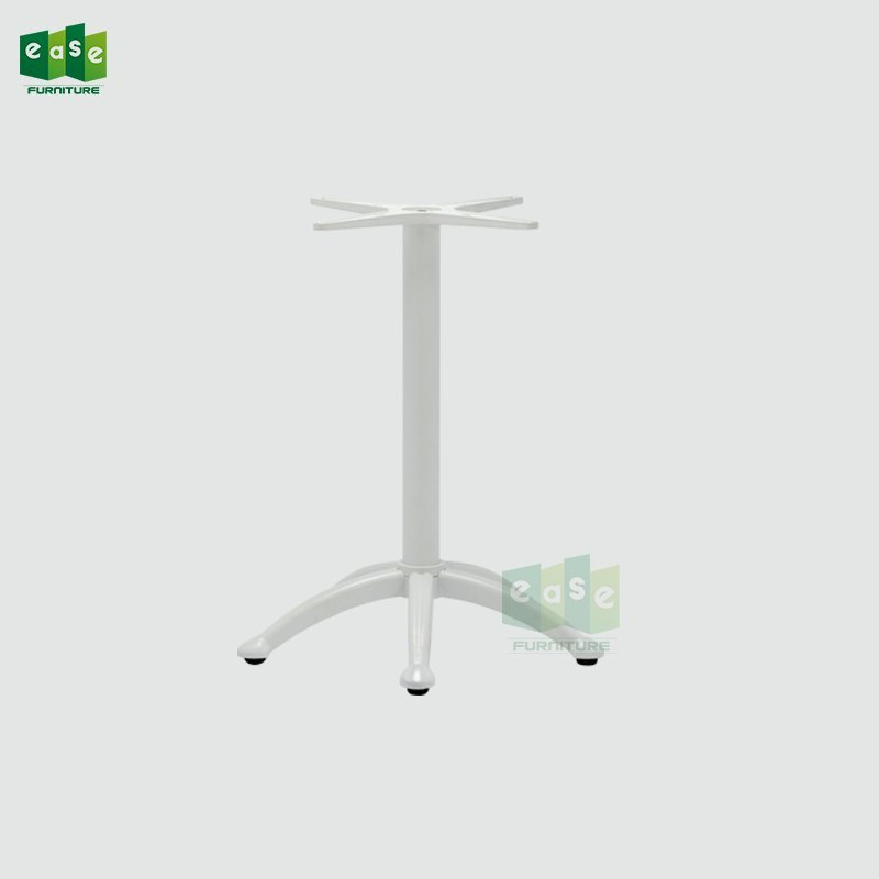 Heavy Duty White Color Aluminum Table Base E9847