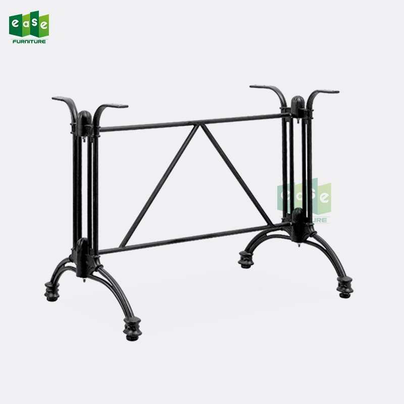 Black Color Aluminum Table Base For Rectangle Table E9305