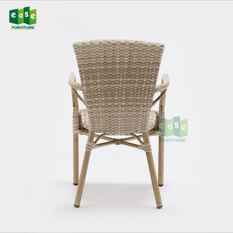 UV resistant outdoor rattan dining arm chair for sale (E1234)