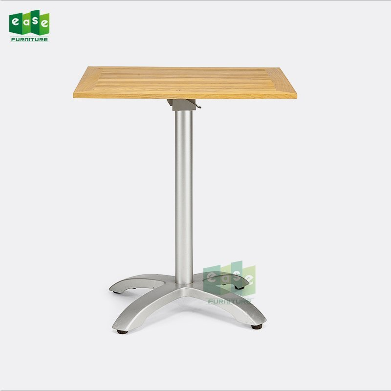 70cm square french bistro table for outdoor restaurant (E9401TWS)