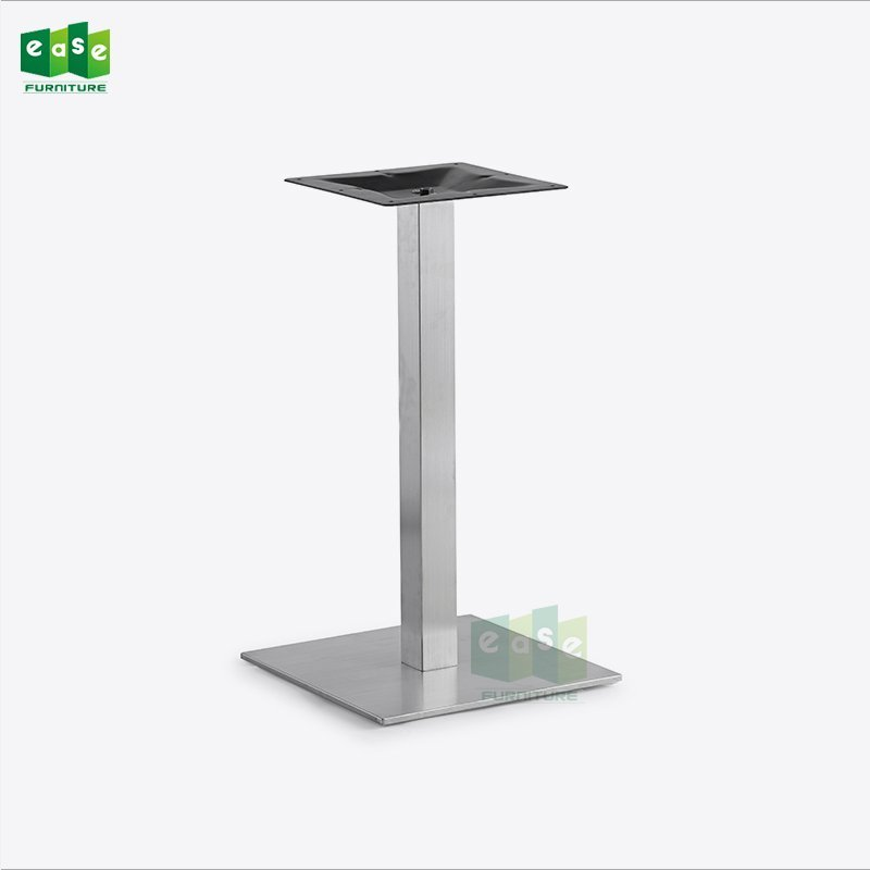 201# brushed finish stainless steel table base for restaurant (E9040)