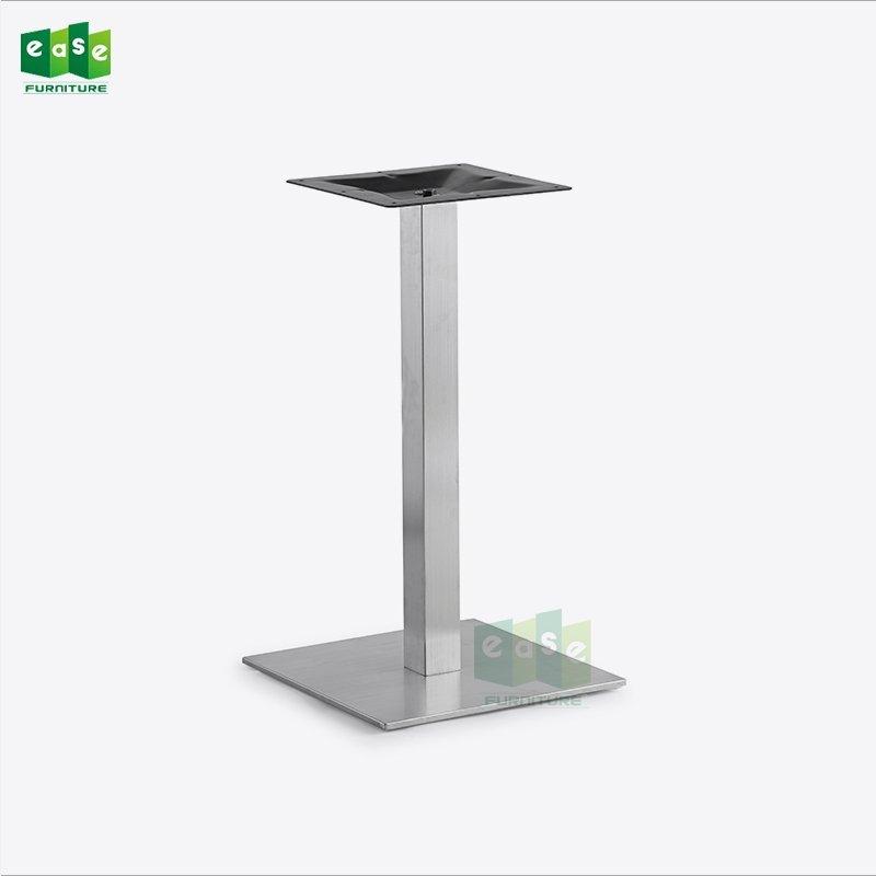 201# brushed finish stainless steel table base for restaurant (E9040)