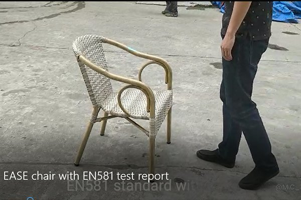 Why choose EASE aluminum wicker chair