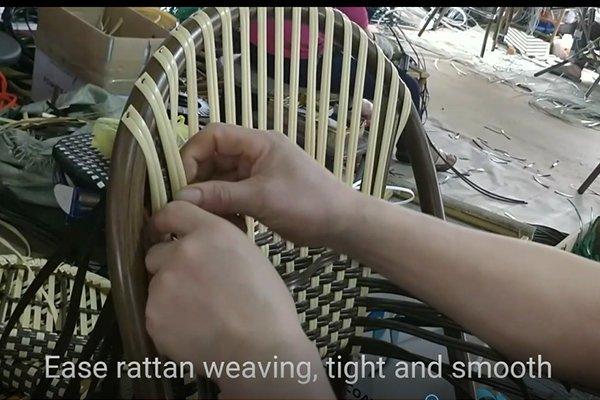 100% hand woven