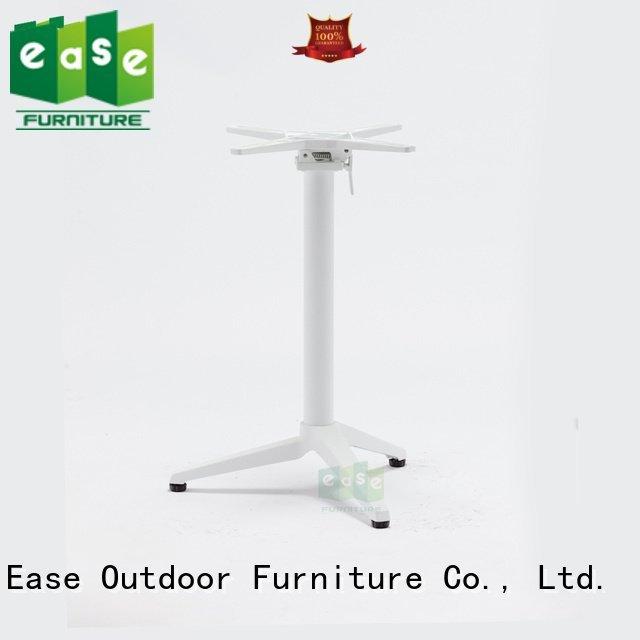 EASE folding aluminum table legs multi patio