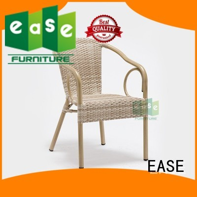 rattan cafe chairs arm rattan bistro chairs EASE Brand