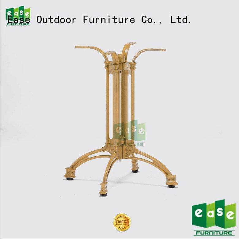 cast aluminum table base heavy furniture rectangle foot Bulk Buy