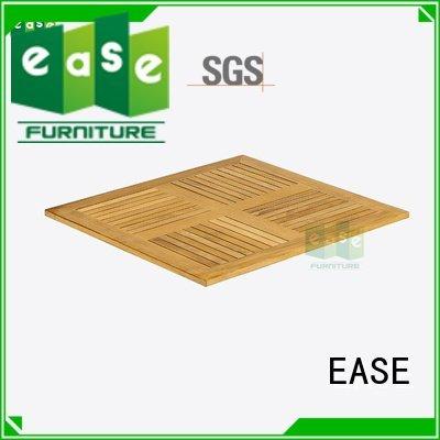 EASE teak wood table top top wood natural