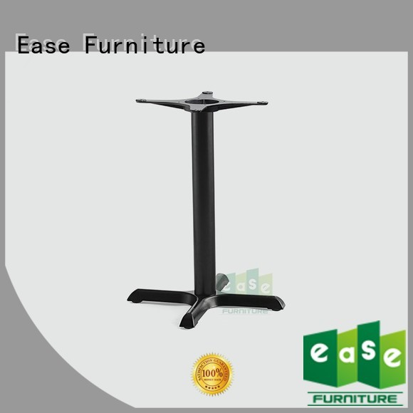 black table duty EASE Brand iron table legs for sale factory