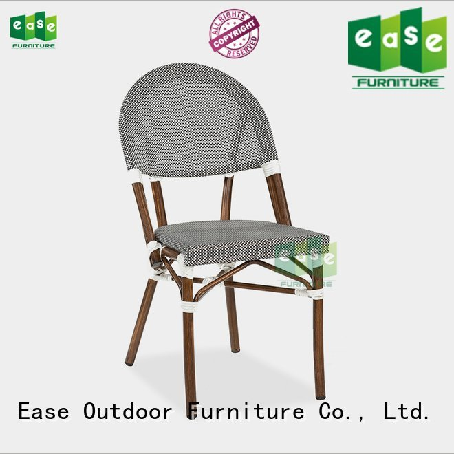 powder frame side outdoor bistro table and chairs EASE
