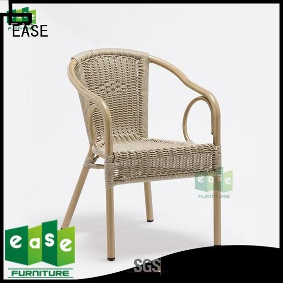 aluminum cafe chairs chair garden e3016 aluminum wicker chairs manufacture