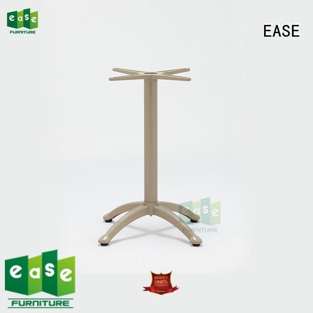 EASE Brand foldable cast aluminum table legs stackable double