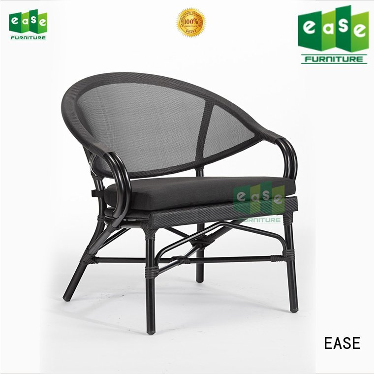 EASE chairs natural powder outdoor folding bistro chairs frame
