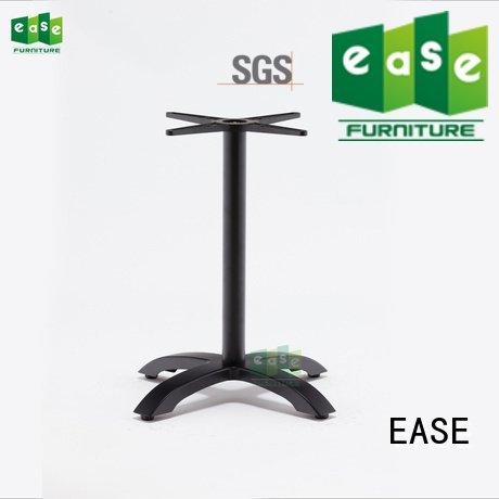 cast aluminum table base double colors aluminum table legs EASE Warranty