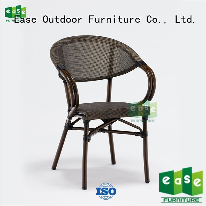outdoor folding bistro chairs modern armless chair EASE