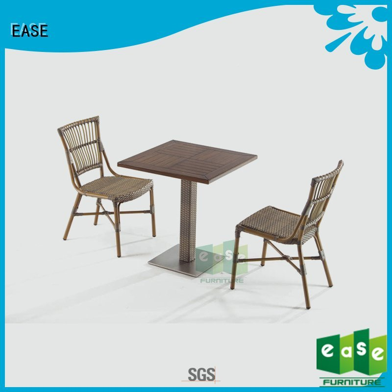 aluminum patio table and chairs rattan wooden patio table and chairs EASE