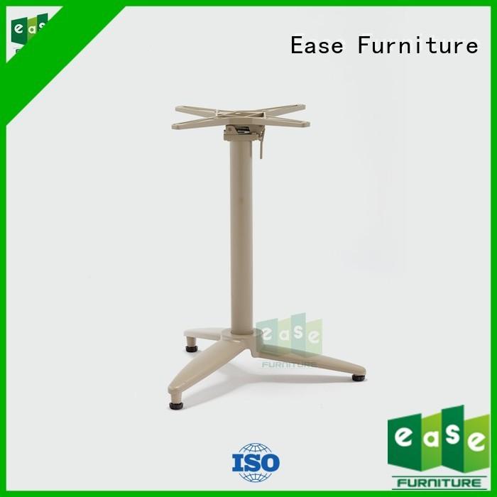cast aluminum table base bamboo patio aluminum table legs color EASE Brand