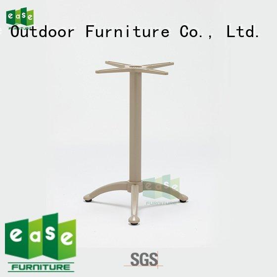 EASE aluminum table legs white waterproof folding duty