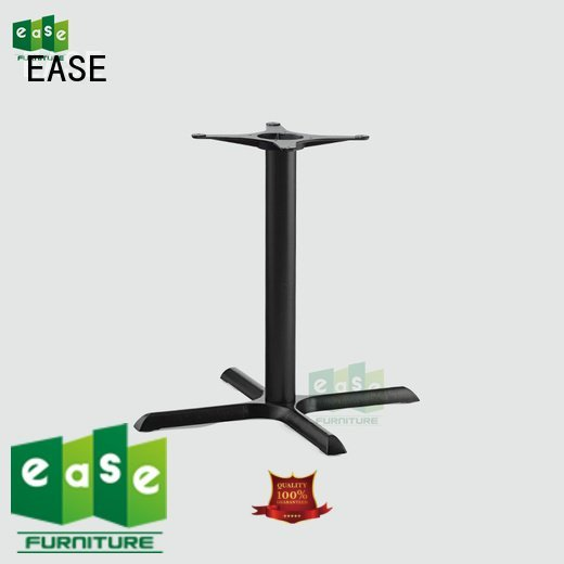 black iron table base EASE iron table legs for sale