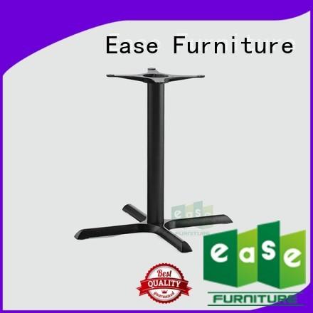 duty style heavy iron table base EASE