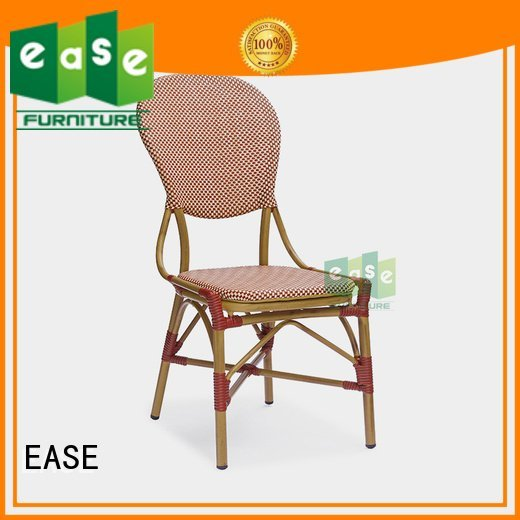 weave look EASE outdoor folding bistro chairs