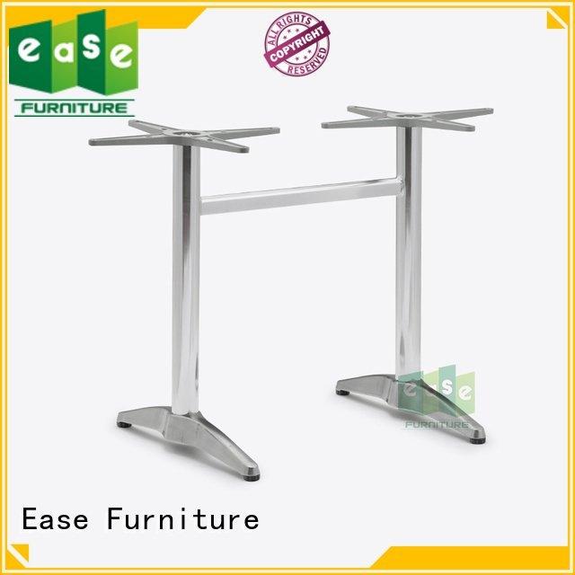black colors aluminum waterproof EASE cast aluminum table base