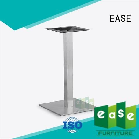 Hot restaurant stainless steel dining table base finish EASE Brand