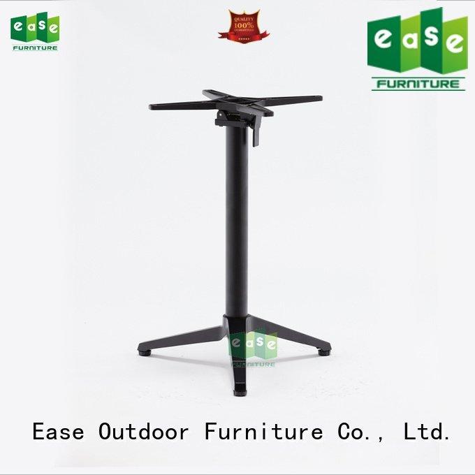 EASE Brand folding silver colors cast aluminum table base