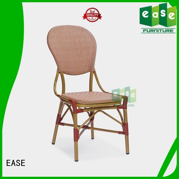 EASE Brand side lounge cafe outdoor bistro table and chairs
