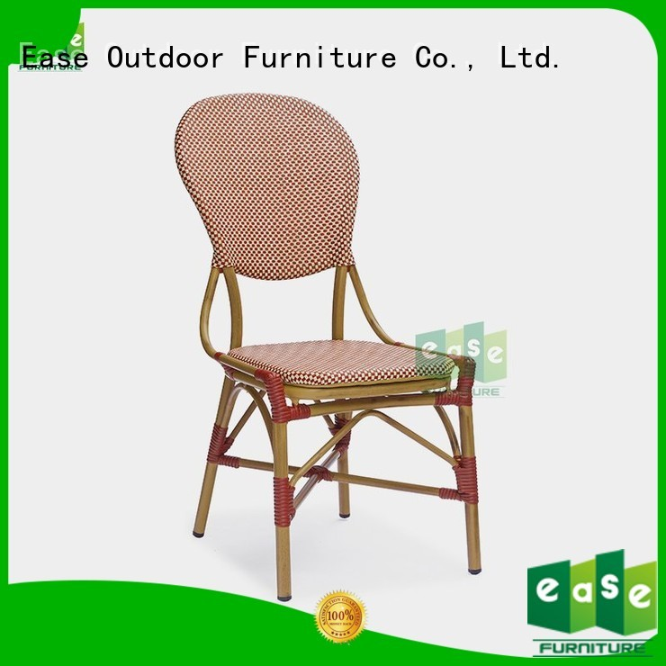 frame commercial outdoor bistro table and chairs EASE Brand