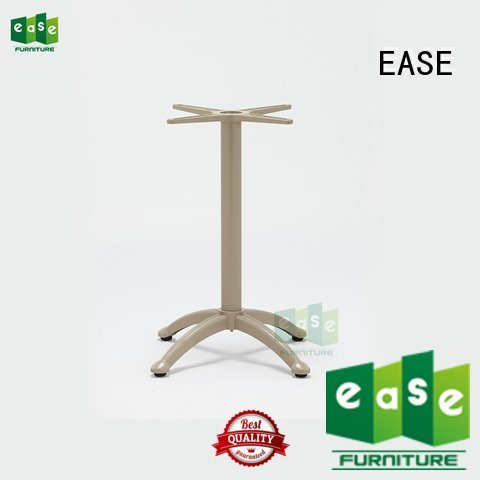 EASE aluminum table legs style parts surface stackable